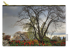 Carry-all Pouch featuring the photograph Enchanted Garden by Eti Reid