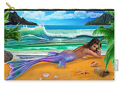 Enchanted Mermaid Carry-all Pouch by Glenn Holbrook