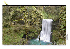 Enchanted Wilderness Waterfall Carry-all Pouch by Andrea Hazel Ihlefeld