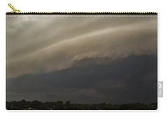 Encroaching Shelf Cloud Carry-all Pouch by Ed Sweeney