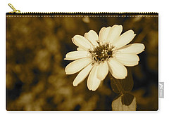 Carry-all Pouch featuring the photograph End Of Season by Photographic Arts And Design Studio