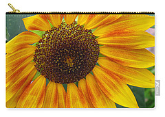 End Of Summer Sunflower Carry-all Pouch
