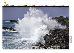 End Of The World Explosion Carry-all Pouch by Denise Bird