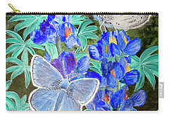 Endangered Mission Blue Butterfly Carry-all Pouch