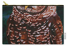 Endangered - Spotted Owl Carry-all Pouch by Mike Robles