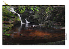 Carry-all Pouch featuring the photograph Enders Falls Spring by Bill Wakeley