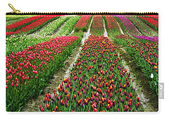 Endless Waves Of Tulips Carry-all Pouch by Eti Reid