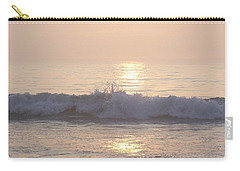 Hampton Beach Wave Ends With A Splash Carry-all Pouch