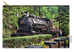 Carry-all Pouch featuring the photograph Engine 102 by Victor Montgomery