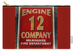 Engine 12 Carry-all Pouch by Susan  McMenamin