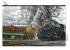 Engine 734 On The Western Maryland Scenic Railroad  Carry-all Pouch by Jeannette Hunt