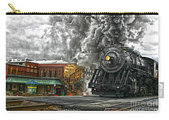 Engine 734 On The Western Maryland Scenic Railroad  Carry-all Pouch
