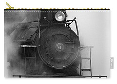 Carry-all Pouch featuring the photograph Engine No. 6 by Jerry Fornarotto