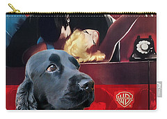 English Cocker Spaniel Art - Dial M For Murder Carry-all Pouch