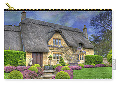 English Country Cottage Carry-all Pouch