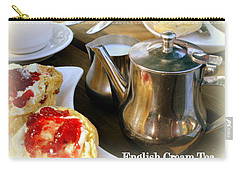 English Cream Tea Carry-all Pouch