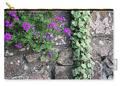 English Garden Wall Carry-all Pouch
