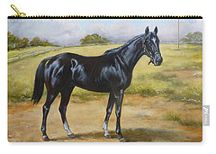 English Horse - Black Huzar Carry-all Pouch
