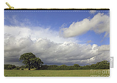 English Oak Under Stormy Skies Carry-all Pouch