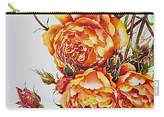 English Roses Carry-all Pouch