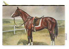 English Stallion Dark Bay Carry-all Pouch