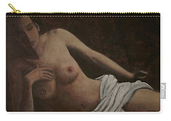 Enigmatic Model Carry-all Pouch
