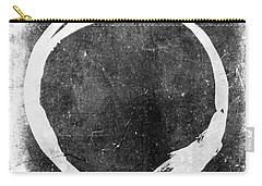 Enso No. 109 White On Black Carry-all Pouch