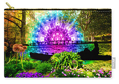 Carry-all Pouch featuring the painting Ensueno by Jalai Lama