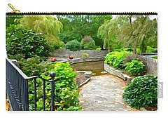 Enter The Garden Carry-all Pouch
