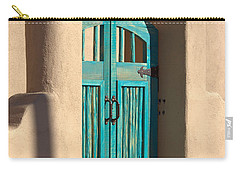 Carry-all Pouch featuring the photograph Enter Turquoise by Barbara Chichester
