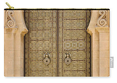 Entrance Door To The Mausoleum Mohammed V Rabat Morocco Carry-all Pouch