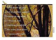 Envisioning Inspirational Carry-all Pouch by Bobbee Rickard