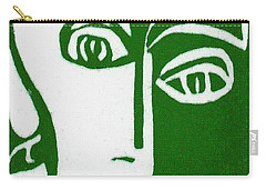 Carry-all Pouch featuring the painting Envy by Donna Tucker