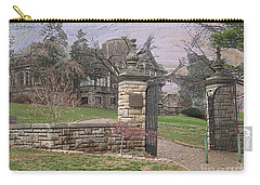 Epperson House House On The Hill Carry-all Pouch by Liane Wright