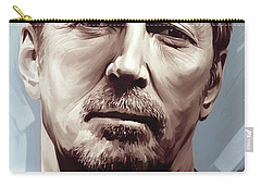 Eric Clapton Artwork Carry-all Pouch by Sheraz A