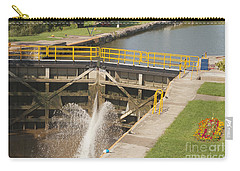 Carry-all Pouch featuring the photograph Erie Canal Lock by William Norton