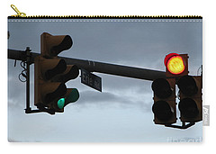 Carry-all Pouch featuring the photograph Erie Road  by Michael Krek