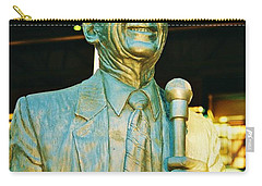 Ernie Harwell Statue At The Copa Carry-all Pouch