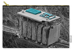 Eroding Battery Carry-all Pouch