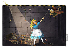 Carry-all Pouch featuring the painting Escape by Reynold Jay