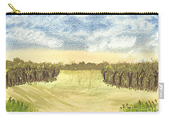 Carry-all Pouch featuring the painting Escape To The Country by Tracey Williams