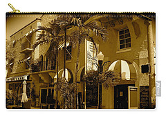 Espanola Way In Miami South Beach Carry-all Pouch