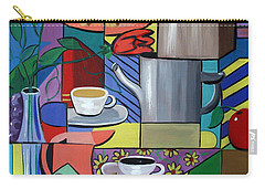Carry-all Pouch featuring the painting Espresso by Anthony Falbo