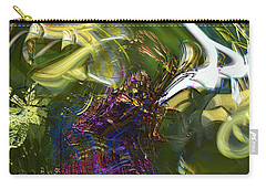 Carry-all Pouch featuring the photograph Esprit Du Jardin by Richard Thomas