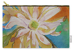 Carry-all Pouch featuring the painting Essence by Beverley Harper Tinsley