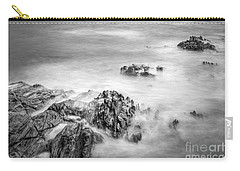 Carry-all Pouch featuring the photograph Estacas Beach Galicia Spain by Pablo Avanzini
