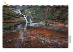 Carry-all Pouch featuring the photograph Ethereal Autumn by Bill Wakeley