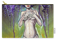 Ethereal Beauty Carry-all Pouch by Jimmy Adams