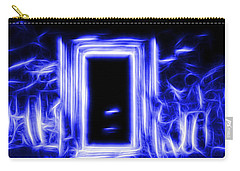 Ethereal Doorways Blue Carry-all Pouch