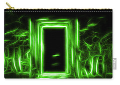 Ethereal Doorways Green Carry-all Pouch
